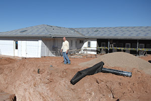 Construction of the new Cat Headquarters at Best Friends Animal Sanctuary