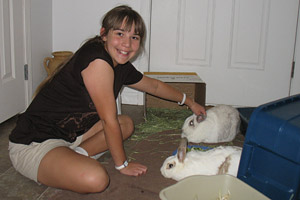 HEKristen double rabbit adoption