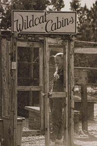 Wildcat Cabins from many years ago at Best Friends Animal Sanctuary