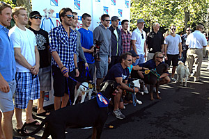 New York Rangers support homeless pets