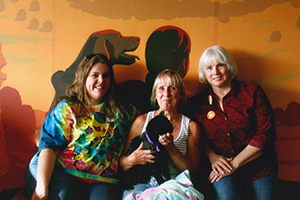 Angie, Debi and Sheryl at Best Friends