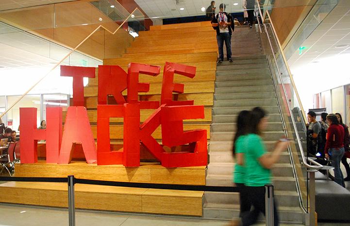 TreeHacks hackathon held at Stanford University