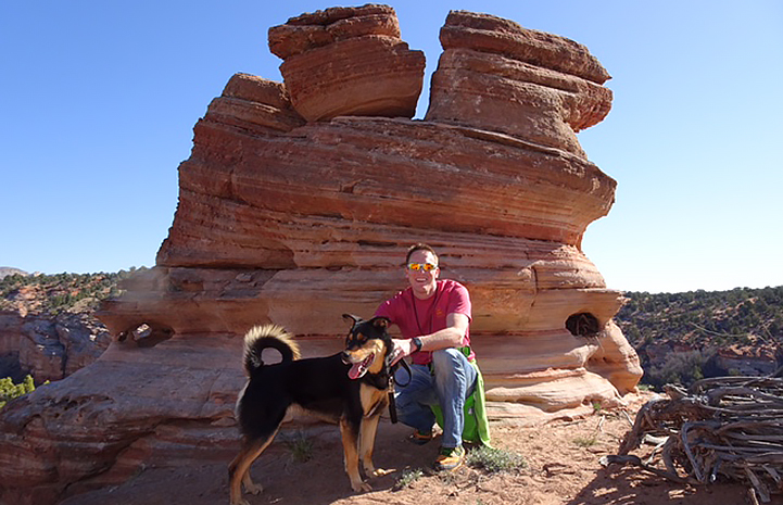Family fun in Utah with Nathan Ivens and dog