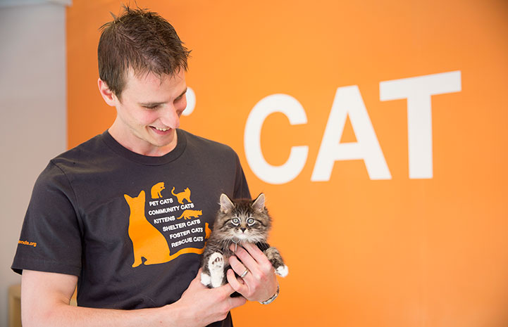 Cat initiative T-shirt
