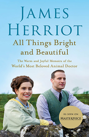 """Cover of the book, """"All Things Bright and Beautiful"""""""