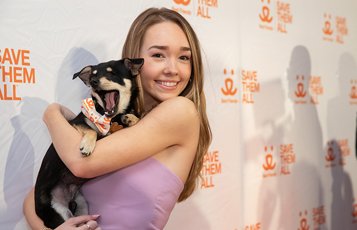 Holly Taylor at the Best Friends New York Gala