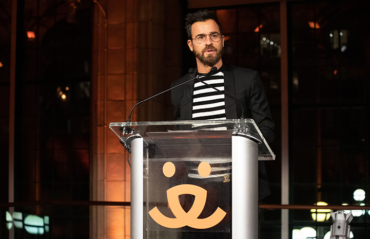 Justin Theroux at the Best Friends New York Gala