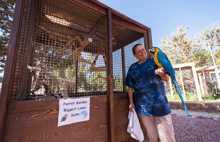 """Savannah going to Parrot Garden's new """"biggest loser"""" suite"""