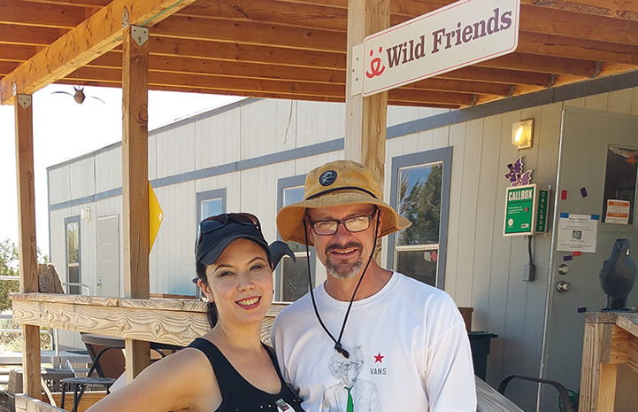 Volunteer Chelsea Eng at Wild Friends