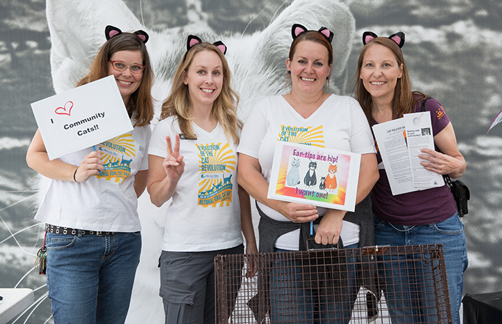 When National Feral Cat Day is celebrated each October, Salt Lake City residents gather at the Best Friends Pet Adoption Center in Salt Lake City to celebrate community cats