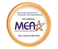 Best Friends Animal Society award for best data