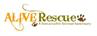 ALIVE Rescue logo with paw print