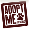 Adopt Me Rescue logo with paw print