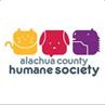 Alachua County Humane Society logo of cats and dogs