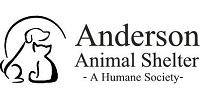 Anderson Animal Shelter logo with cat and dog