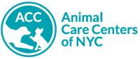Animal Care Centers of NYC (New York) logo with cat and dog