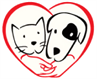 Animal Rescue Rhode Island (Wakefield, Rhode Island) log with dog, cat and heart