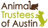 Animal Trustees of Austin (Austin, Texas) logo with cat, dog