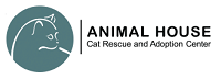 Animal House Cat Rescue and Adoption Center (St. Louis, Missouri) logo with cat