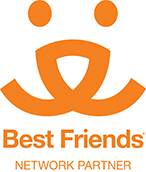 Raton Humane Society (Raton, New Mexico) logo is the Best Friends Network Partner logo
