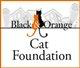 Black and Orange Cat Foundation; B & O Cats (Plain City, Ohio) logo: 'Fixing Felines to Keep Communities from Going Astray