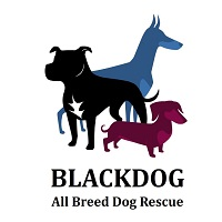 Blackdog All Breed Dog Rescue (Waukegan, Illinois) logo of dogs
