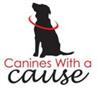 Canines With a Cause Foundation (Park City, Utah) logo with black dog