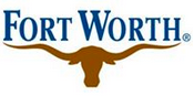 "City of Fort Worth Animal Care & Control (Fort Worth, Texas) logo of a brown Texas longhorn head under ""Fort Worth"""