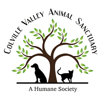 Colville Valley Animal Sanctuary (Colville, Washington) logo of tree