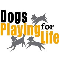 Dogs Playing for Life (Longmont, Colorado) logo