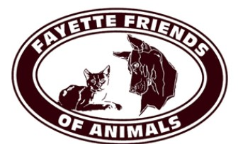 Fayette Friends of Animals (Uniontown, Pennsylvania) logo dog and cat in circle