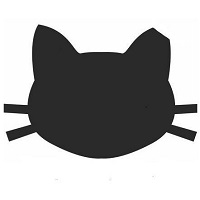 Forgotten Felines Of Corbin KY (Berea, Kentucky) logo of black cat head