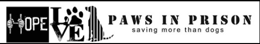 Friends of Paws in Prison Inc. (San Antonio, Texas) logo hope love dog