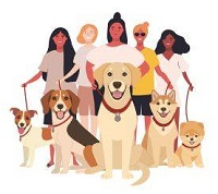 Girls of Dog Rescue (Tustin, California) logo