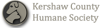 Kershaw County Humane Society (Camden, South Carolina) logo has profiles of a dog and cat together in a circle