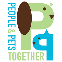 People & Pets Together (Minneapolis, Minnesota) logo of dog and cat ears