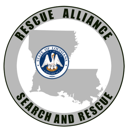 Rescue Alliance (Gonzales, Lousiana) state seal of Louisiana over state