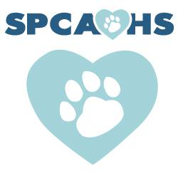 SPCA/Humane Society of Prince George's County Inc (Bowie, Maryland) logo pawprint in heart