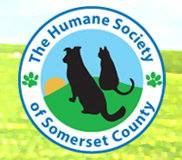 Humane Society of Somerset County (Somerset, Pennsylvania) logo with dog and cat in a circle