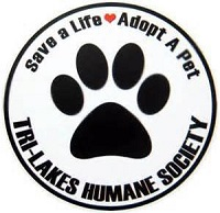 Tri-Lakes Humane Society (Saranac Lake, New York) logo