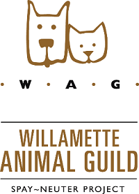 Willamette Animal Guild (Eugene, Oregon) logo