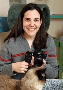 Amanda Cavazos, an intern with Best Friends Animal Society