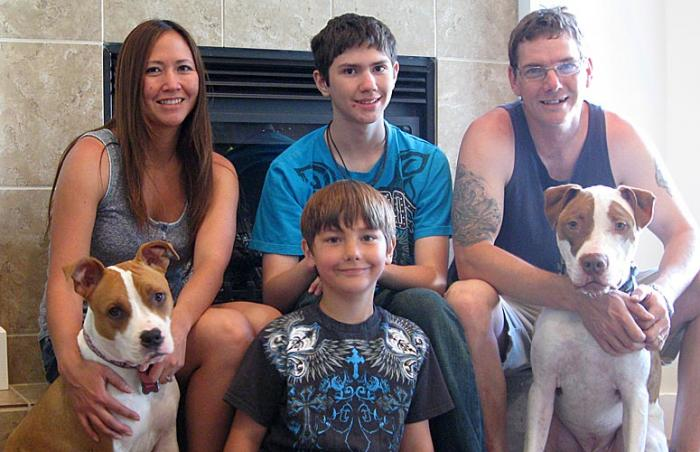 Nekoda the dog reunited with his family