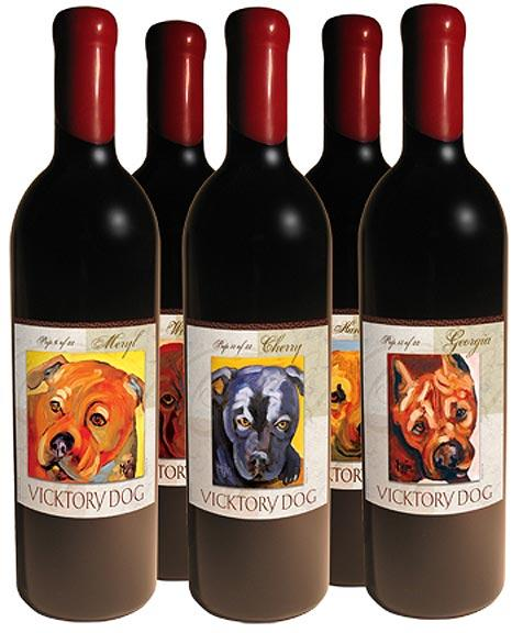 Vicktory Dog Wine Collection
