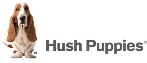 Hush Puppies logo with basset hound