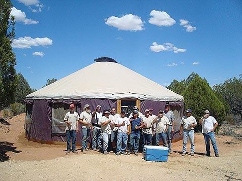 Best Friends staff prepare the sanctuary for the Michael Vick dogs