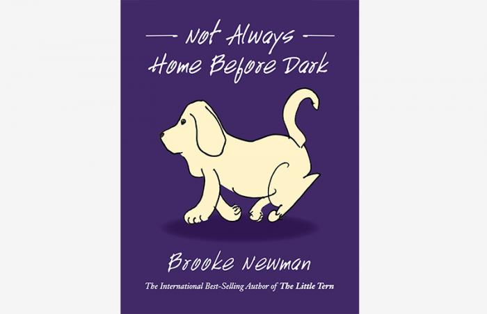 Cover of the book, 'Not Always Home Before Dark'