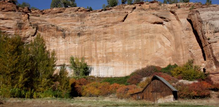 The Disney Barn in Angel Canyon. Take a tour of Best Friends Animal Sanctuary.