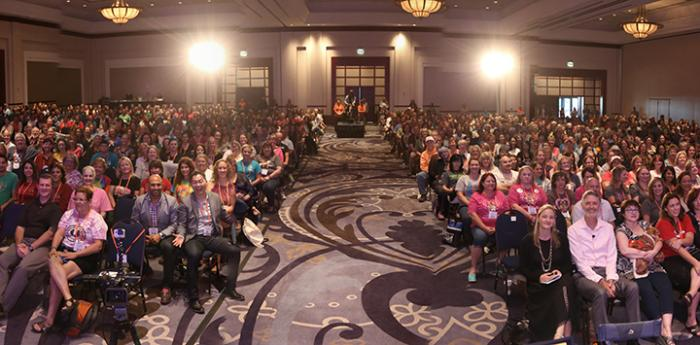Large group shot from the 2015 Best Friends National Conference
