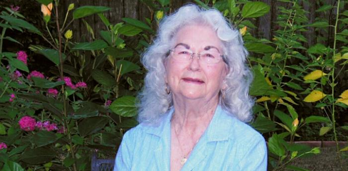 Renee whose mother Marianne left a donation gift to the animals in her will